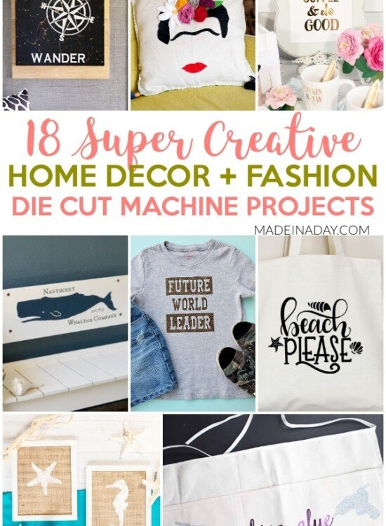18 Super Creative Die Cut Machine Projects 1