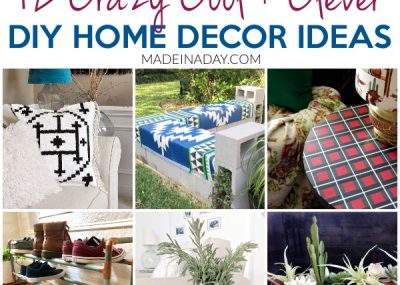 12 Crazy Cool DIY Home Decor Ideas to do this Weekend! 18