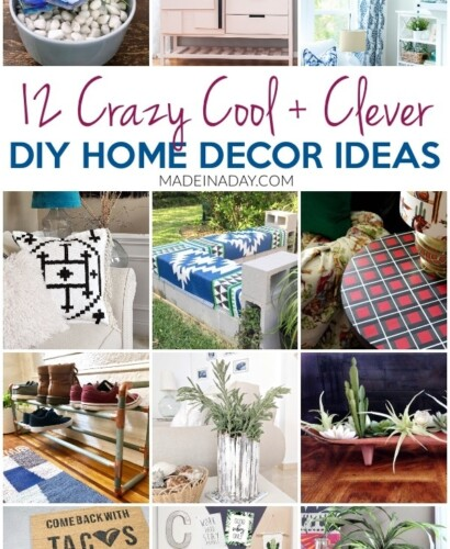 12 Crazy Cool DIY Home Decor Ideas to do this Weekend! 32
