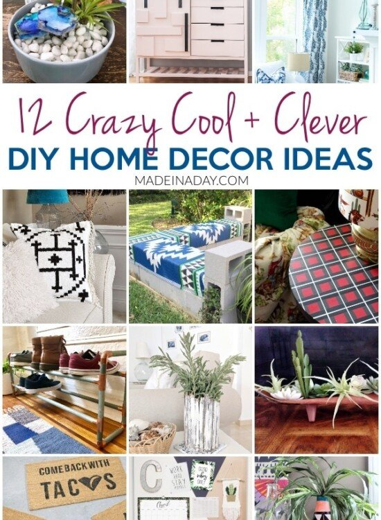 12 Crazy Cool DIY Home Decor Ideas to do this Weekend! 33