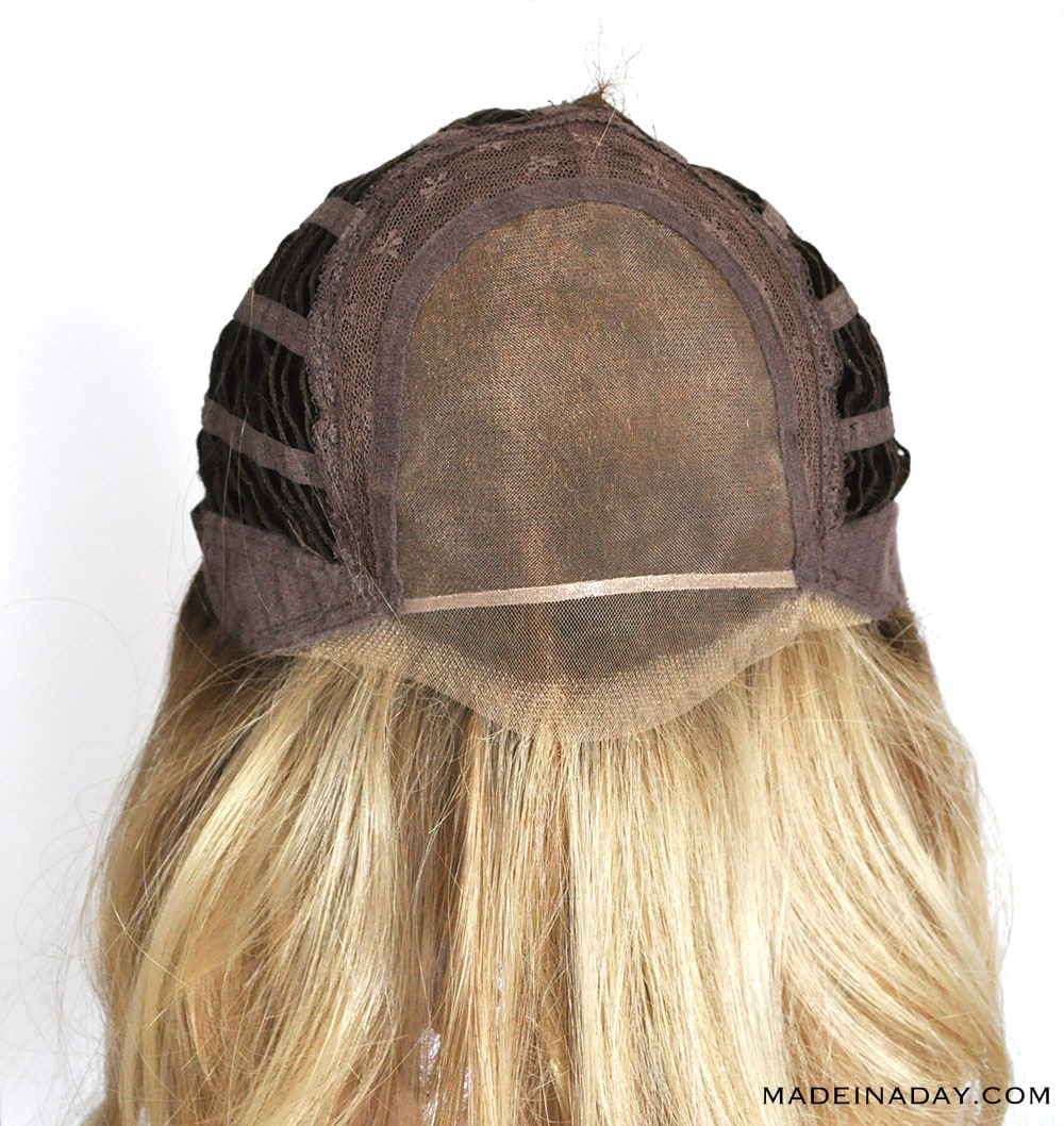 Wig base for Belle madame Angelina Mono SF in Danish Blonde Root
