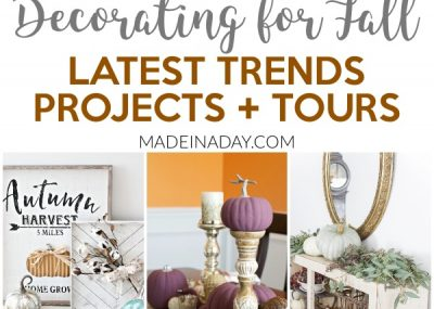 Latest Trends Fall Home Tours + Projects 14