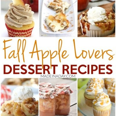 Fall Lovers Best Apple Dessert Recipes