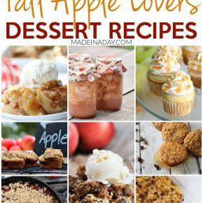 Fall Lovers Best Apple Dessert Recipes 1
