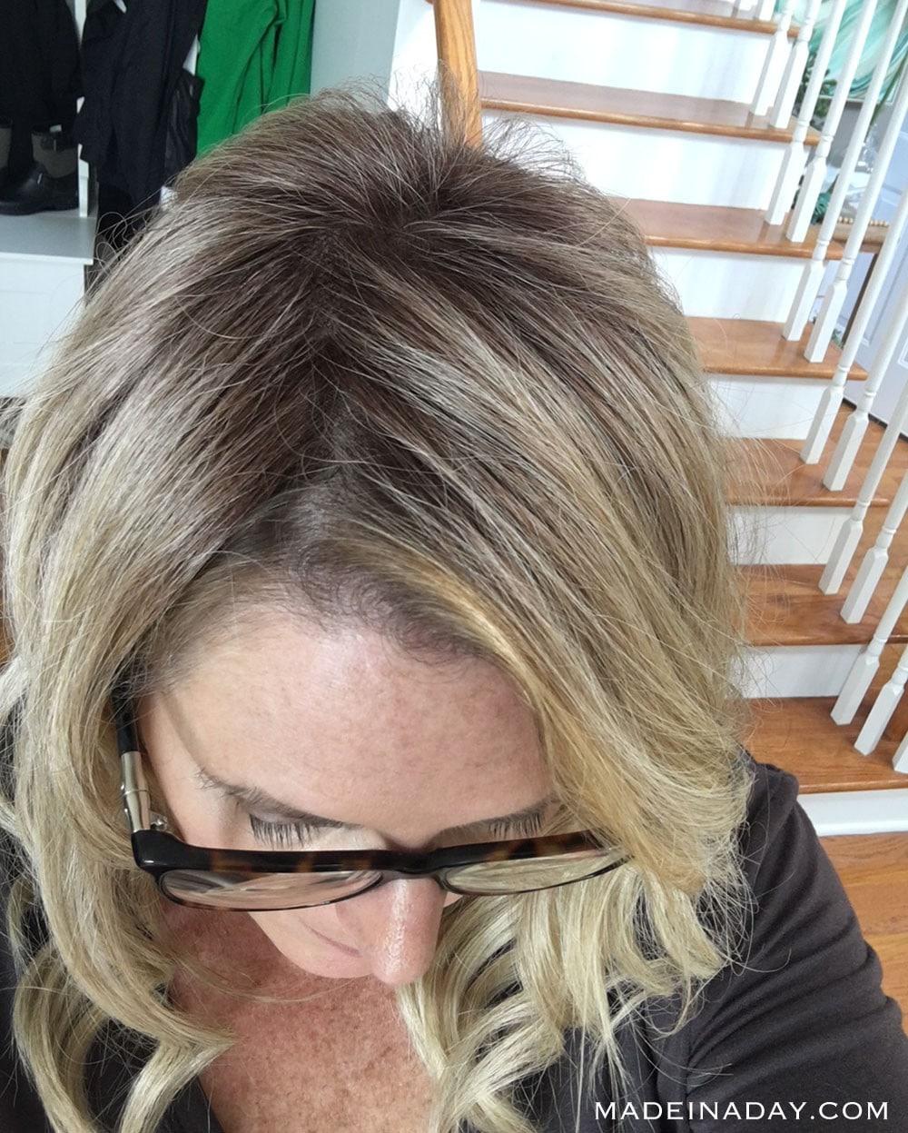 BELLE TRESS MONO LACE FRONT TOP WAVE (part view), best hair topper