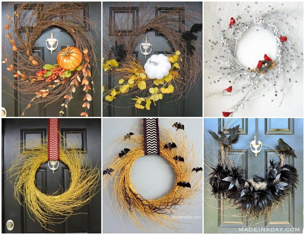 wispy wreaths, fall wispy wreath,
