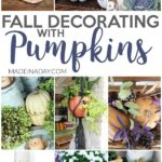 Dazzling Fall Decorating with Pumpkins Around the Home 29