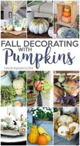 Dazzling Fall Decorating with Pumpkins Around the Home 1