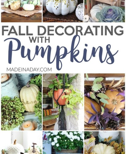 Dazzling Fall Decorating with Pumpkins Around the Home 8