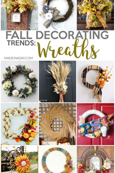 Fall Wreath Design Decorating Trends