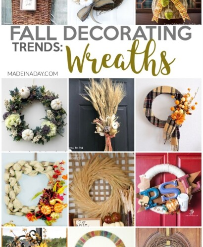 Fall Wreath Design Decorating Trends 3