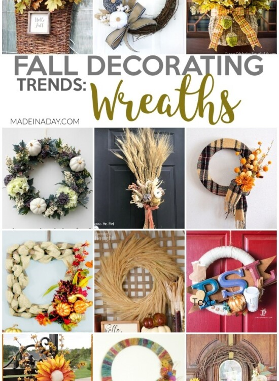 Fall Wreath Design Decorating Trends 7