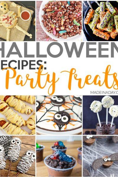 Halloween Treat Recipes for Entertaining