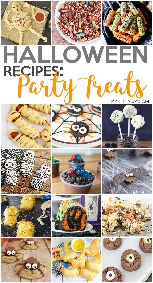 Creepy Halloween Treat Recipes for Entertaining
