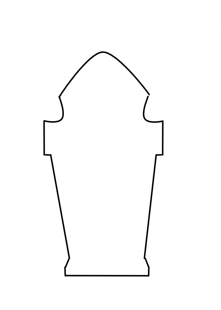 printable gothic tombstone template,