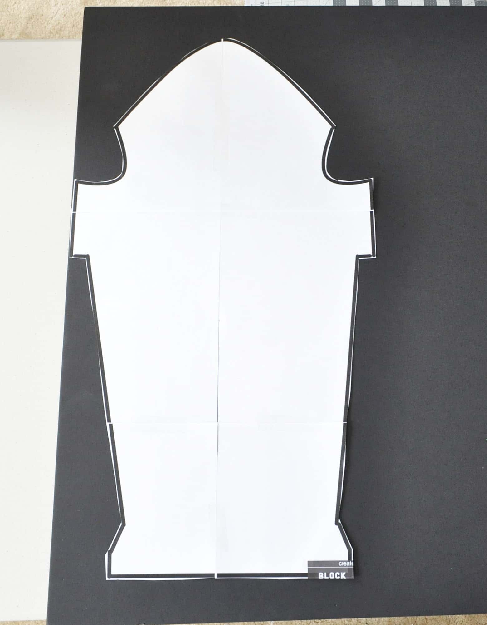 foam core tombstone cut out