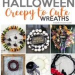 Creepy to Cute Halloween Wreath Trends 31