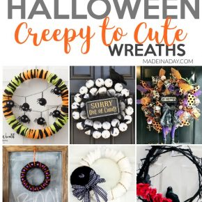 Creepy to Cute Halloween Wreath Trends 1
