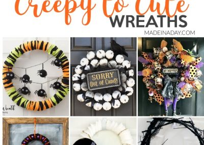 Creepy to Cute Halloween Wreath Trends 5