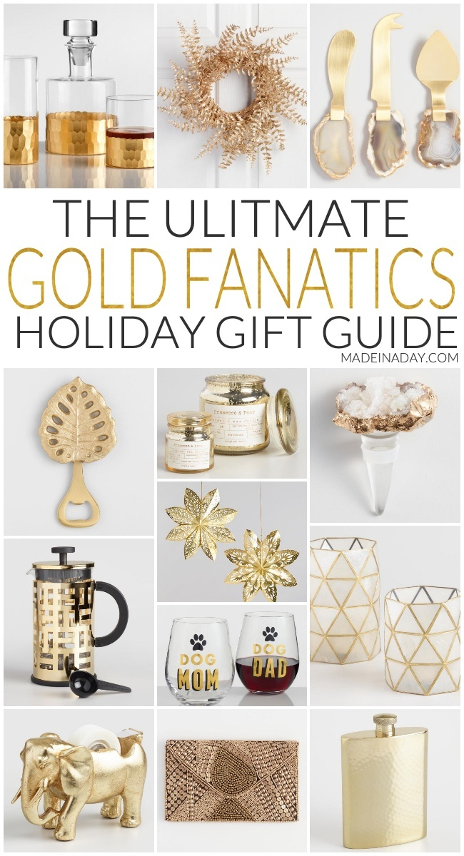 The Ultimate Gold Fanatics Holiday Gift Guide