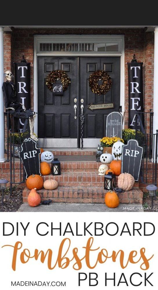 halloween graveyard, tombstone templates