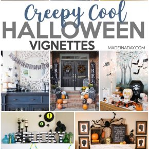 Undeniable the Creepiest Halloween Vignette Decor 1