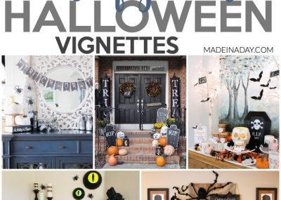 Undeniable the Creepiest Halloween Vignette Decor 3