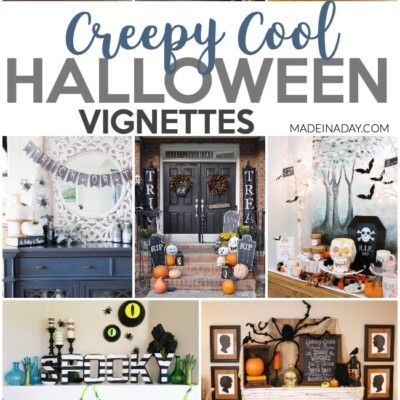 The Creepiest Halloween Vignette Decor
