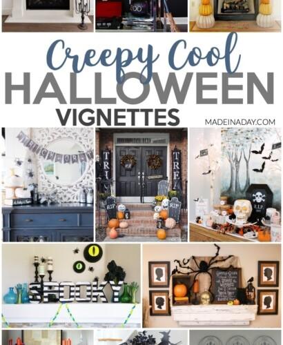 Undeniable the Creepiest Halloween Vignette Decor 31