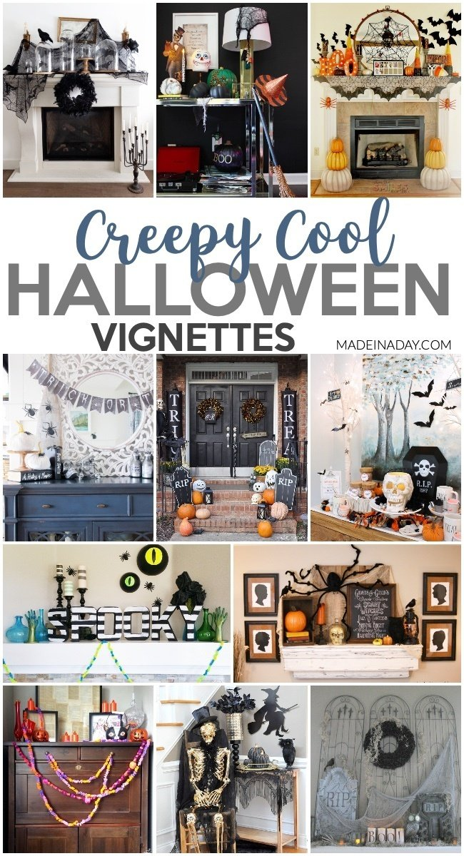 Halloween Vignette Decor