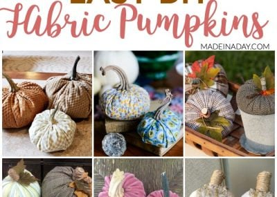 Fall Trend: DIY Fabric Pumpkin Tutorials 1