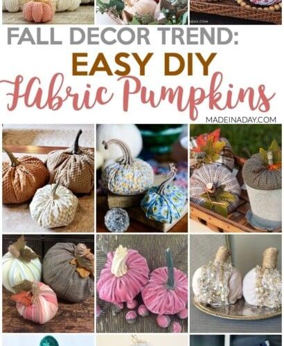 Fall Trend: DIY Fabric Pumpkin Tutorials 4