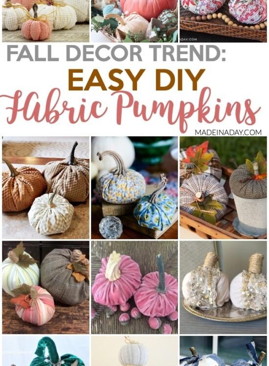Fall Trend: DIY Fabric Pumpkin Tutorials 7