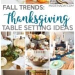 Thanksgiving Tablescape Ideas for the Perfect Holiday 29