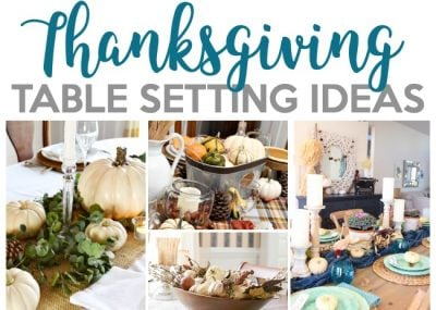Thanksgiving Tablescape Ideas for the Perfect Holiday 12