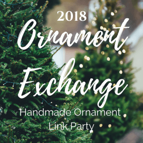 2018 Holiday Handmade Ornament Exchange + Linky Party 1