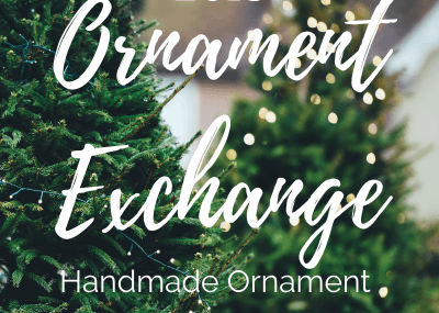 2018 Holiday Handmade Ornament Exchange + Linky Party 10