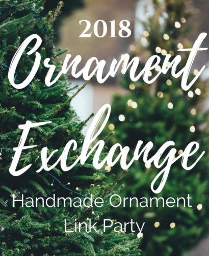 2018 Holiday Handmade Ornament Exchange + Linky Party 31