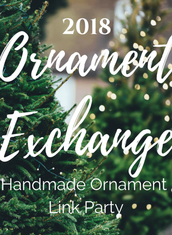 2018 Holiday Handmade Ornament Exchange + Linky Party 7