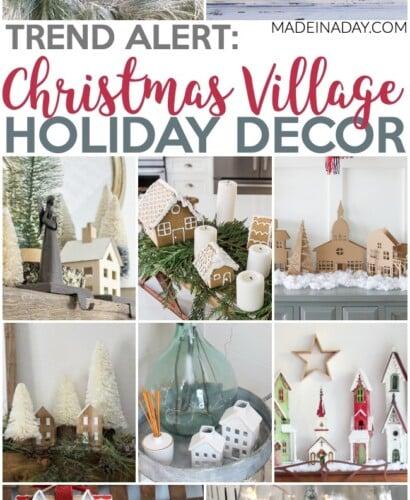 10 Fascinating Christmas Village Holiday Decoration Ideas 31