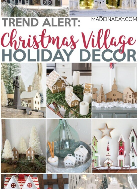 10 Fascinating Christmas Village Holiday Decoration Ideas 9