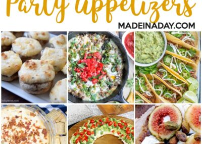 Easy Make & Take Party Appetizers 23
