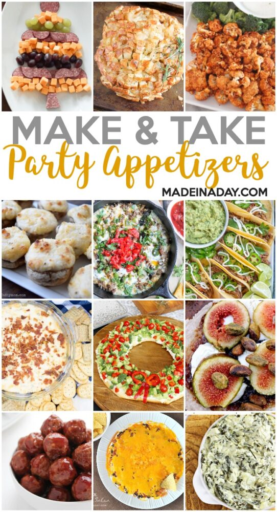 party appetizers, finger food