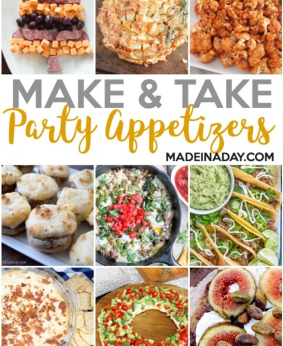 Easy Make & Take Party Appetizers 6