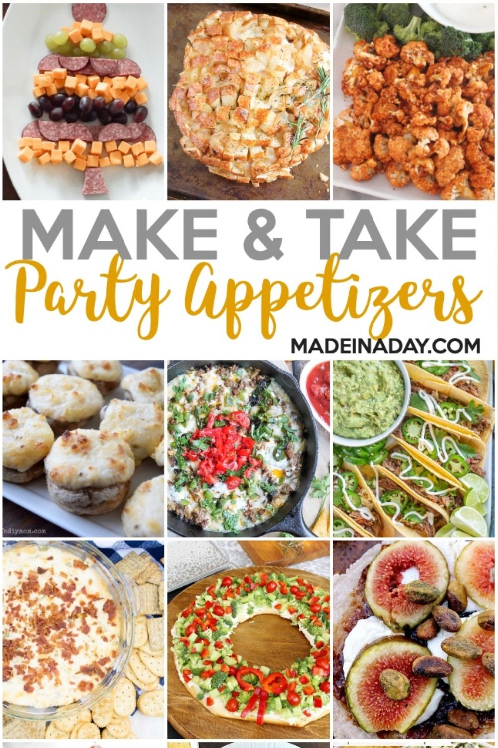Easy Make & Take Party Appetizers