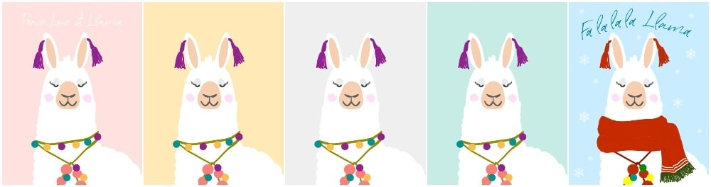 Llama wall art, llama home wall decor, alpaca printables, Alpaca wall art printables, llama alpaca art prints