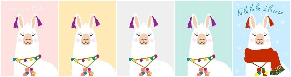 Llama wall art, llama home wall decor, alpaca printables, Alpaca wall art printables, llama alpaca art prints