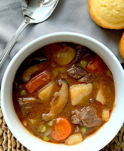 Rich & Hearty Pressure Cooker Beef Stew 31