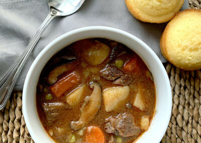 Rich & Hearty Pressure Cooker Beef Stew 22