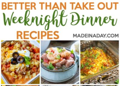 Better Than Takeout Weeknight Dinner Recipes 17